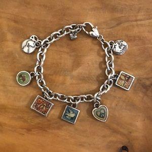 BRIGHTON Peace Charm Bracelet